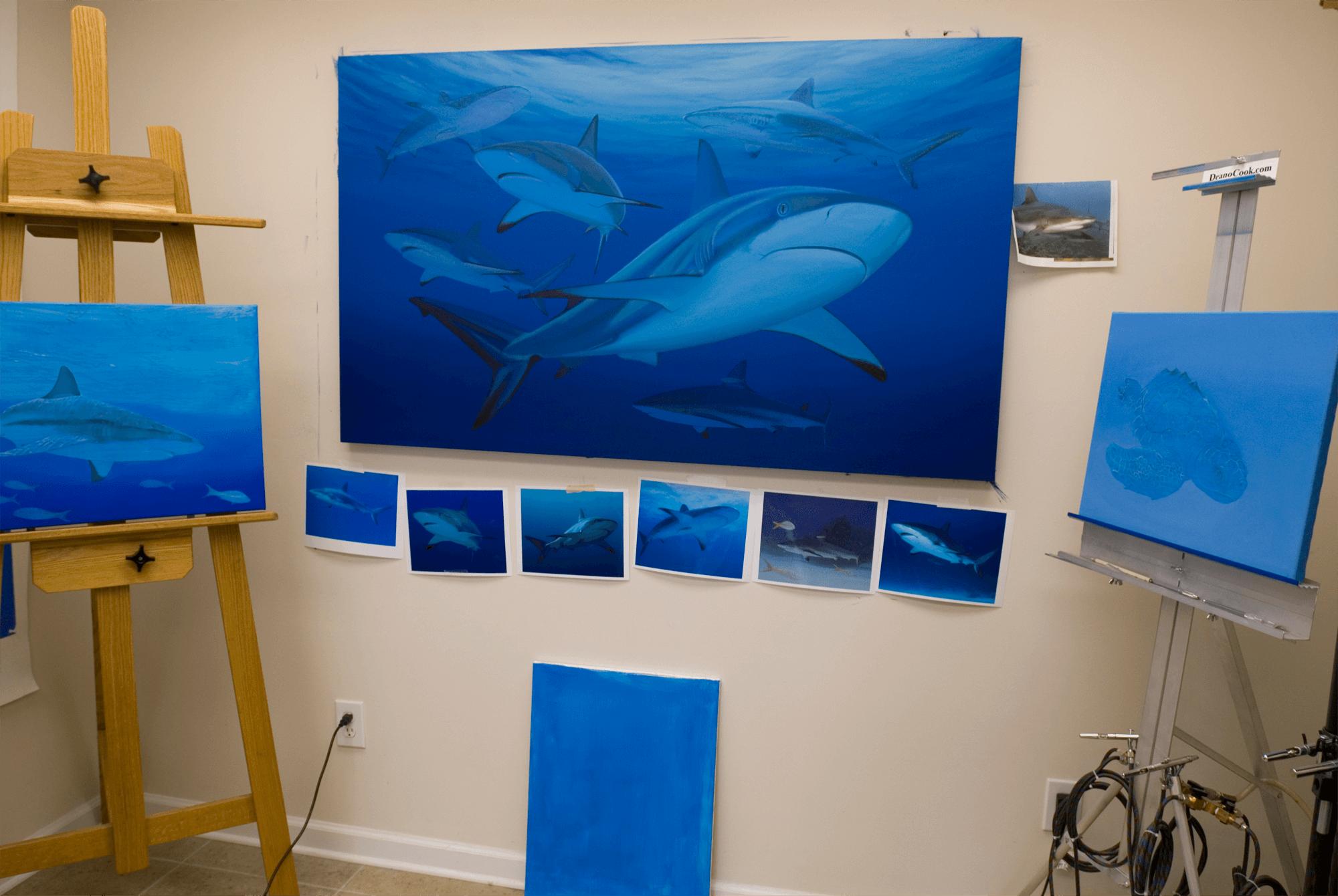 Deano Cook Art Studio