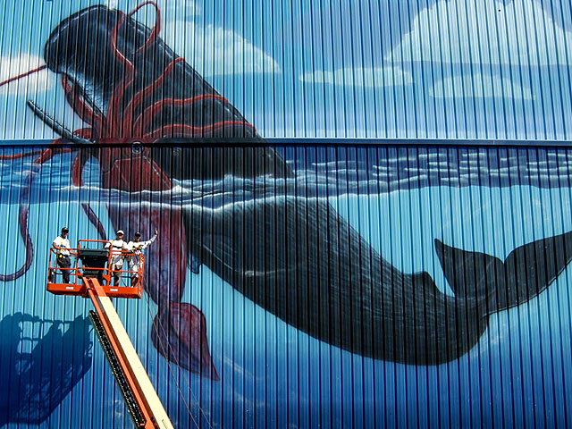 Wyland Destin Wall – 'Marine Life of the Gulf'